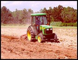 John Deere Vineyard Tractor