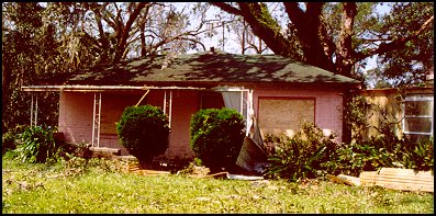 Cottage after Katrina