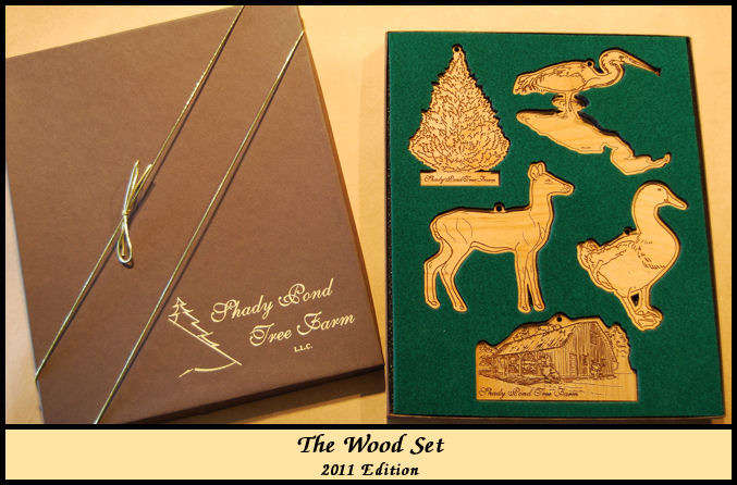 Scenes from Shady Pond-The Wood Set