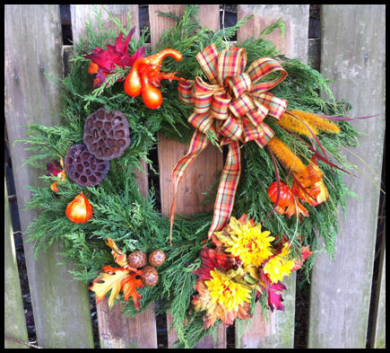 Christmas Wreaths at Shady Pond