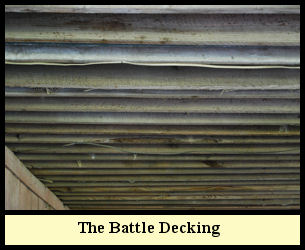 Engineers refer to this floor system as 'battle decking'.