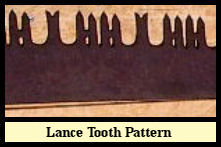 Lance Side Cutting Teeth and Raker Teeth.
